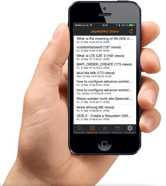 phpMyFAQ iOS App